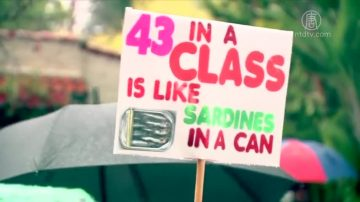 洛縣教師罷工 影響學區近50萬學生