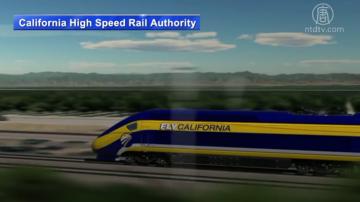 州长纽森将撤销旧金山洛杉矶高铁项目