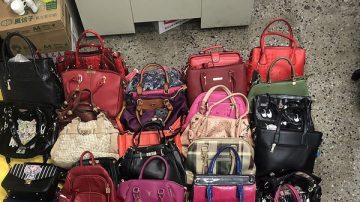 女囤逾50件皮包飾品 老公直到警察上門才知原因