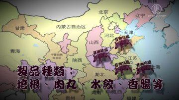 中國有毒冷凍豬肉製品恐佔5成