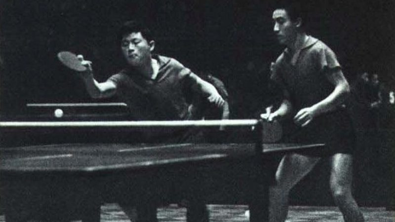 歷史上的今天,2月10日:莊則棟與乒乓球——成就了中美外交