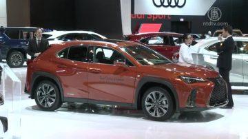 多倫多國際車展 LEXUS油電混合車亮眼