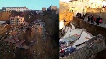 山西鄉寧樓房坍塌 釀2死17失蹤