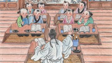 《幼學》故事(13)明皇遊月殿