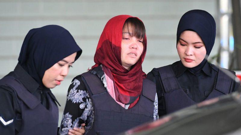 金正男謀殺案檢方拒撤指控 段氏香淚灑法庭
