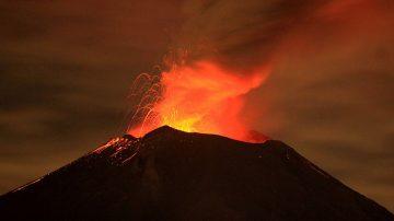 墨西哥北部火山爆發 轟隆巨響傳40公里外